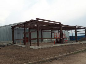 Prefabricated and steel building construction in Vernon
