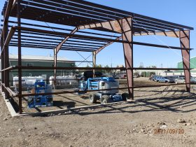 Prefabricated and steel building construction in Prince George