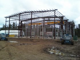 Prefabricated and steel building construction in Calgary
